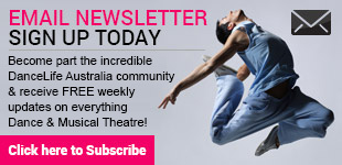 DanceLife Email Newsletter Subscribe