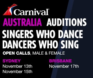 Carnival Auditions November 2017