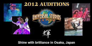 USJ AUDITIONS 2012