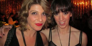 Caitlin Gray with Kelley Abbey - Great Gatsby Sydney Premiere Party