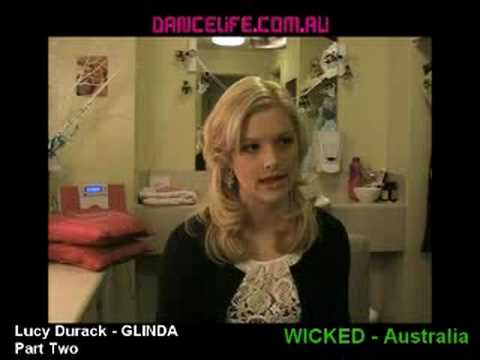 Lucy Durack - Glinda in WICKED Australia P2