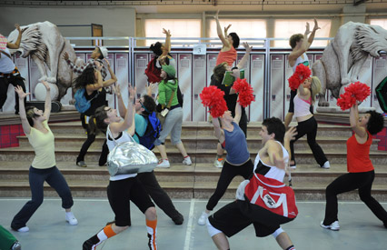 High School Musical Rehearsals