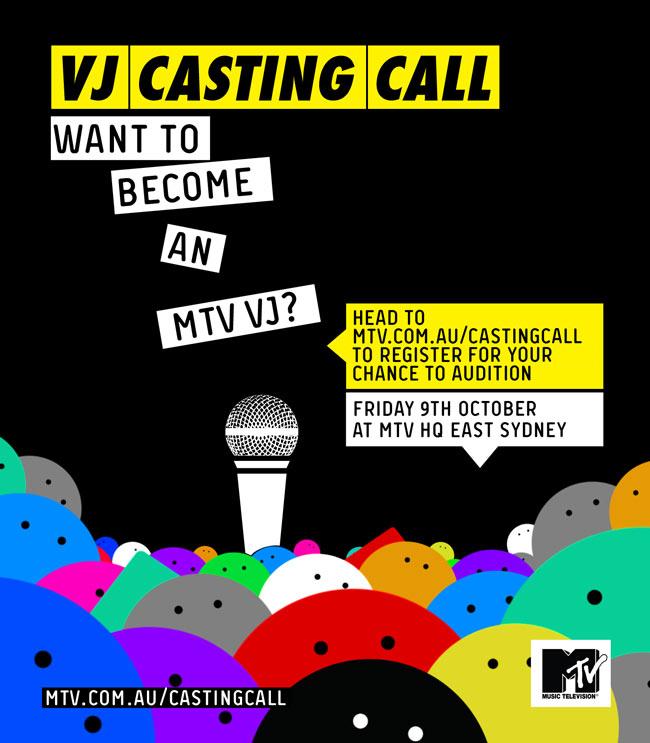 BE MTV'S NEXT VJ