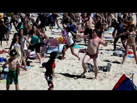 Bondi Flash Mob