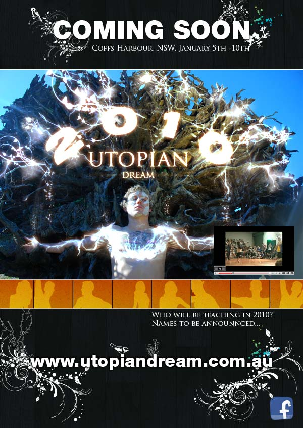 THE UTOPIAN DREAM DANCE WORKSHOP FESTIVAL