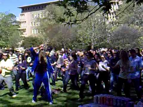 World Record Robot Dance at Melbourne University 2009