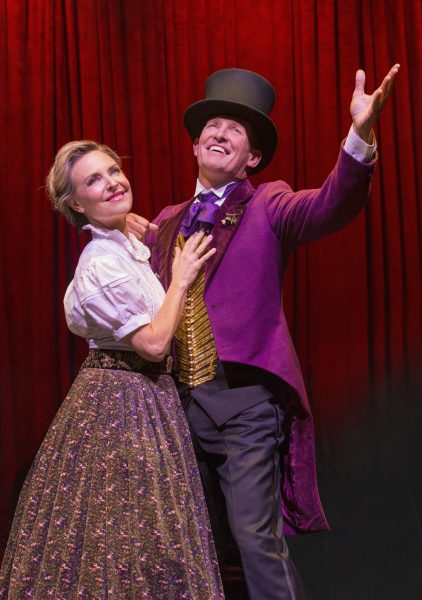 Todd McKenney & Rachael Beck. Photo Jeff Busby