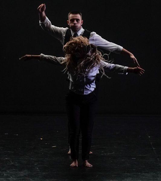 Jordan Grant and Alysha Percy