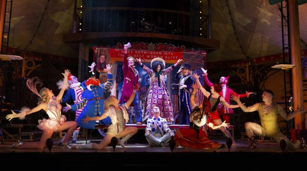 BARNUM Australian Production 01 - PIC CREDIT JEFF BUSBY