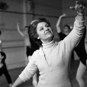 Peggy van Praagh at East Melbourne studios ion 1962. Photo Courtesy Aust News and Info Bureau by KeithByron