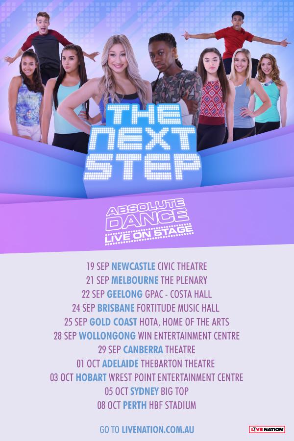 The Next Step 2019 Australian Tour