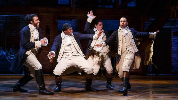 Original Hamilton Cast. Photo Joan Marcus