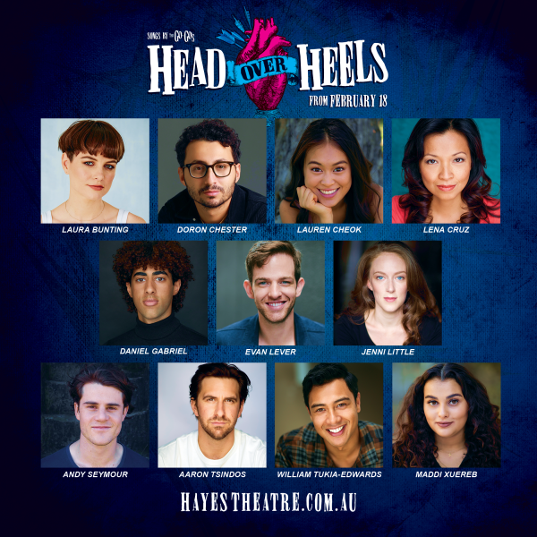 Head Over Heels Cast